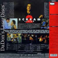 Scream 2 AC-3 Widescreen Japan LaserDisc Campbell Arquette Cox Gellar Horror