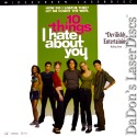 10 Things I Hate About You AC-3 WS Rare LaserDisc Ledger Comedy