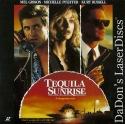 Tequila Sunrise Rare LaserDisc Pfeiffer Gibson Thriller