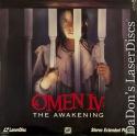 Omen IV The Awakening Dolby Surround Rare NEW LaserDisc Horror