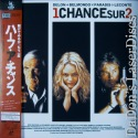 1 Chance sur 2 AKA Half A Chance AC-3 Widescreen Rare Japan Only LaserDisc French Action