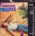 The 3 Worlds of Gulliver NEW PSE LaserDisc Harryhausen Action