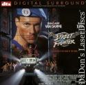 Street Fighter DTS NEW Widescreen Rare LaserDisc Van Damme Julia Action