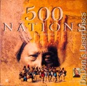 500 Nations Special Ed NEW Rare LaserDiscs Box Costner