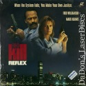 The Kill Reflex Rare LaserDisc Fred Williamson Maud Adams Bo Svenson Action