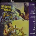The 7th Voyage of Sinbad PSE LaserDiscs Pioneer Special Edition Fantasy
