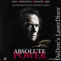 Absolute Power AC-3 WS Rare LaserDisc Eastwood Hackman Harris Thriller