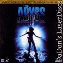 The Abyss WS Rare LaserDisc Box Mastrantonio Sci-Fi