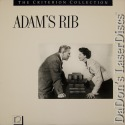 Adam's Rib Criterion #47 Rare NEW LaserDisc Hepburn Tracy