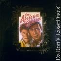 The African Queen Limited Ed. Rare LaserDisc NEW Boxset Adventure