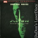 Alien Resurrection DTS WS LaserDisc Weaver Ryder Sci-Fi
