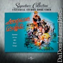American Graffiti Dolby Surround WS Signature Collection LaserDisc Comedy