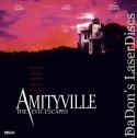 Amityville 4 The Evil Escapes Rare LaserDisc Duke Wyatt Demons Horror *CLEARANCE*