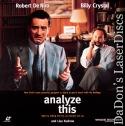 Analyze This AC-3 WS Rare LaserDisc De Niro Crystal Mafia Comedy