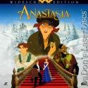 Anastasia AC-3 WS Rare LaserDisc Ryan Cusack NEW Animation