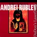 Andrei Rublev Rare LaserDisc WS NEW Criterion #222
