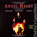 Angel Heart DSS WS Rare LaserDisc Rourke Bonet De Niro 112 Min Mystery