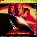 Armageddon DTS WS Mega-Rare LaserDisc Willis Affleck Tyler Sci-Fi