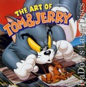 The Art of Tom & Jerry Vol 1 Rare LaserDisc Box Cartoon