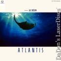 Atlantis MUSE Hi-Vision Rare NEW LaserDisc HDTV 1080i Besson