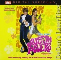 Austin Powers International Man of Mystery DTS WS LaserDisc Spy Comedy