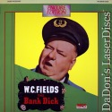 The Bank Dick 1940 NEW LaserDisc Encore LD W.C. Fields Comedy