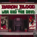 Baron Blood / Lisa and the Devil Elite WS Rare LaserDisc LD Horror *CLEARANCE*
