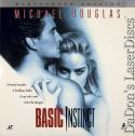 Basic Instinct AC-3 RM WS Rare LaserDisc Stone Douglas Mystery