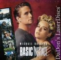 Basic Instinct UNCUT Widescreen PSE Pioneer Special Edition LaserDisc Thriller