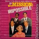 Best of Mission Impossible V5 Mind Stefan Miklos NEW LaserDisc Spy TV Show