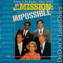 Best of Mission Impossible V6 Bunker Part 1 & 2 NEW LaserDisc