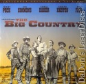 The Big Country WS NEW LaserDisc Peck Simmons Baker