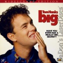 Big WS DSS LaserDisc Hanks Perkins Loggia Heard Comedy