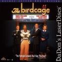 The Birdcage AC-3 WS Rare LaserDisc Williams Hackman Lane Comedy