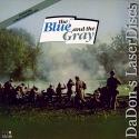 Blue and the Gray Rare TV Series LaserDisc Box Peck War Drama