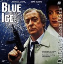 Blue Ice Rare LaserDisc Caine Young Thriller
