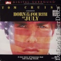 Born on the Fourth of July DTS WS NEW LaserDisc Cruise War Drama
