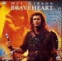 Braveheart AC-3 THX WS LaserDisc Rare LD Gibson Adventure