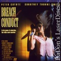 Breach of Conduct Rare LaserDisc Coyote NEW Thriller *CLEARANCE*
