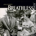 Breathless Criterion #59 Rare LaserDisc #153 French Drama