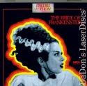 The Bride of Frankenstein Rare Uncut Encore LaserDisc