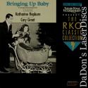 Bringing Up Baby 1938 Rare NEW RKO LaserDisc Grant Hepburn Comedy
