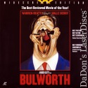 Bulworth AC-3 WS Rare LaserDisc NEW LD Beatty Berry Comedy