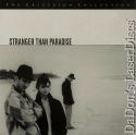 Stranger Than Paradise Rare WS Criterion LaserDisc #307 Comedy