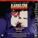 A Case for Murder DSS NEW LaserDisc Berg Grey Thriller