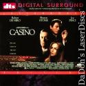 Casino DTS WS LaserDisc NEW Rare LD DeNiro Stone Pesci