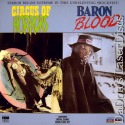 Circus of Horrors Baron Blood NEW Double LaserDiscs Horror
