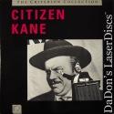 Citizen Kane CAV Criterion #1A Rare LD Boxset Welles Drama