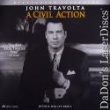 A Civil Action AC-3 WS Rare LaserDisc Travolta Duvall Drama