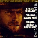 The Clint Eastwood Trilogy WS Rare LaserDisc Box West